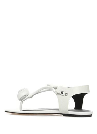 Etoile İsabel Marant Sandalet Beyaz